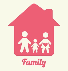 famly home design vector image