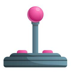 Joystick icon cartoon style vector