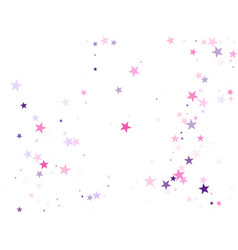 Magic sparkles decorative print vector