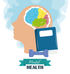 Mental health day psychology medical treatment vector