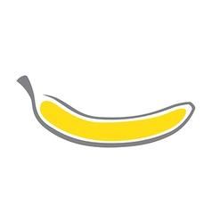 Modern Banana vector image