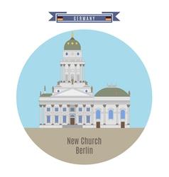 New Church Berlin vector image