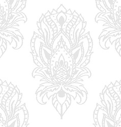 seamless texture with doodle pattern vintage vector image