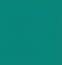 Simple square seamless pattern of teal checks vector