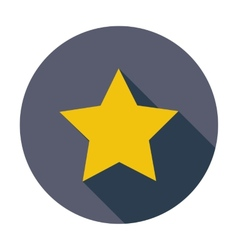 Star Single flat icon vector image