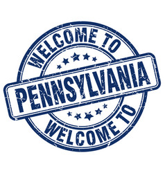 Welcome to pennsylvania vector