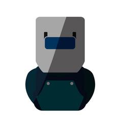 Welding mask isolated vector