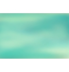 Blue blurred background vector image vector image