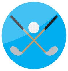 icon-golf vector image vector image
