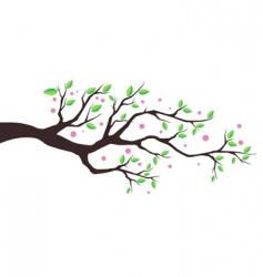illustration tree vector image