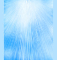 Blue blurred background with rays vector