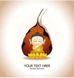 Buddha Cartoon vector image