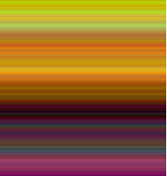 Colorful horizontal gradient stripe background vector image vector image
