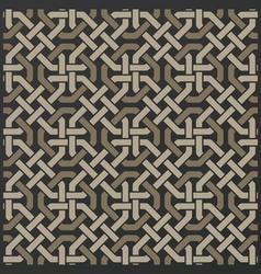 Decorative seamless islamic ornament background vector