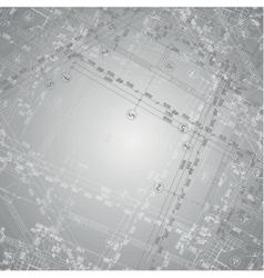 Grey gradient architecture background vector