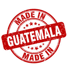made in guatemala vector image