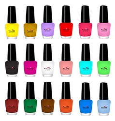 Nail varnish vector