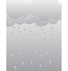 rain 02 vector image