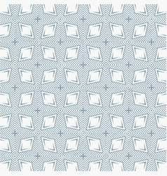 Rhombus shape line pattern background vector