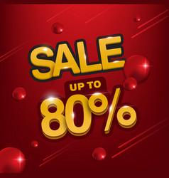 sale banner template design big sale special up vector image