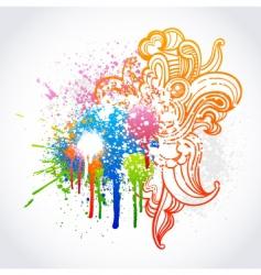 graffiti sketch vector image