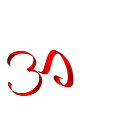 art ohm sign om symbol yoga aum symbolizing vector image
