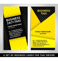card design - business card template vector image vector image