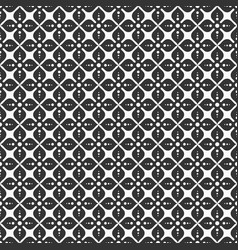 abstract flower of four petals seamless pattern vector image