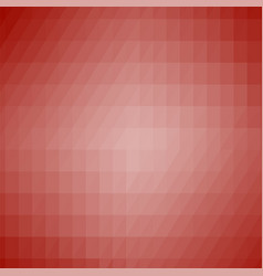 abstract red modern mosaic pattern vector image vector image