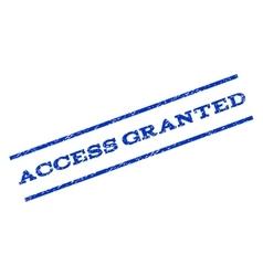 Access Granted Watermark Stamp vector
