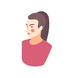 Allergy symtoms icon vector