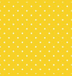 orange seamless pattern background polka vector image