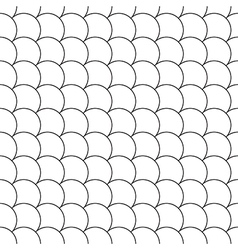 Simple seamless pattern diagonal fish scales vector
