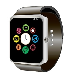 Smart watch and wifi vector