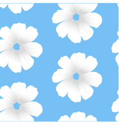 white flowers seamless white flowers seamless vector image vector image