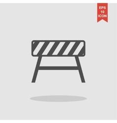Roadblocks icon Flat vector image