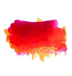Watercolor blot vector image vector image