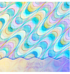 abstract stylish mosaic background vector image