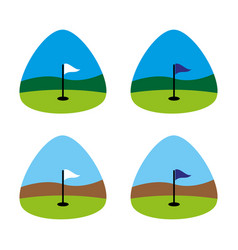 golf5 vector image