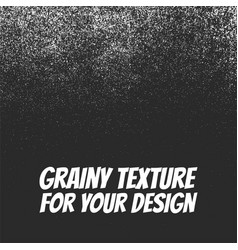 Grainy dust or snow grunge texture vector