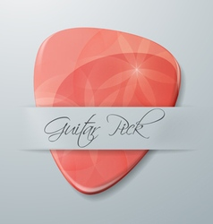 Guitar Pick vector image