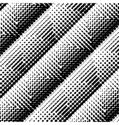Halftone monochrome background vector image