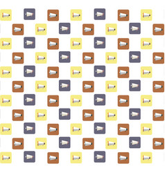 megaphones icons pattern background vector image