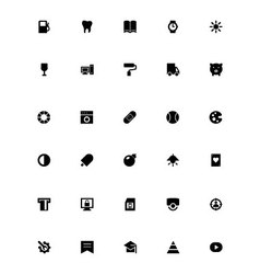 Mini Icons 10 vector