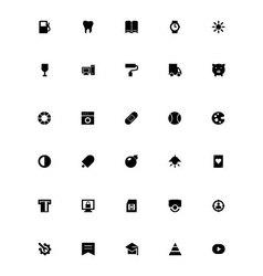 Mini icons 10 vector