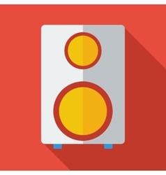 Modern flat design concept icon Speaker vector image