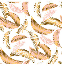 pastel luxury exotic seamless pattern vector image