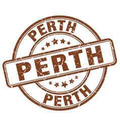 Perth stamp vector