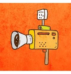 Video Camera Cartoon vector image