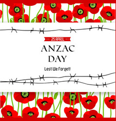 Commemorative Anzac background vector